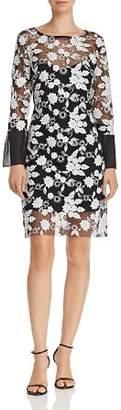 Nanette Lepore nanette Embroidered Illusion Dress