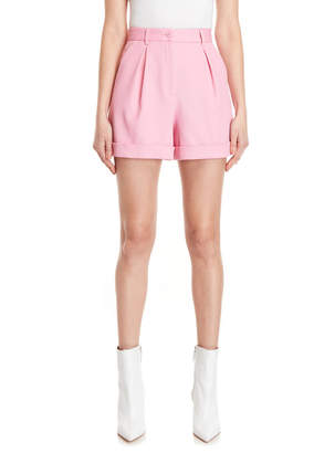 Moschino Pleated Front Shorts