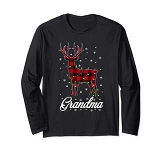 Buffalo David Bitton Red Plaid Grandma Reindeer Deer Christmas Pajama