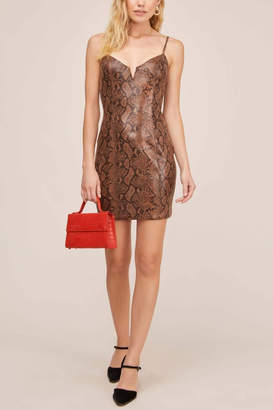 Aster Come Slither Mini Dress