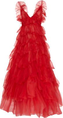 Nevenka The Circle Dance Silk-Organza Dress