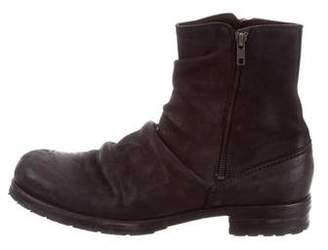 Shoto Suede Ankle Boots