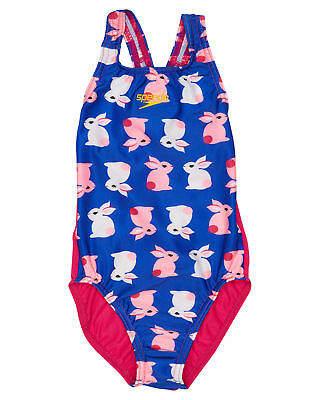 Speedo Girls Tots Girls Bunny Medalist One Piece Polyester Elastane