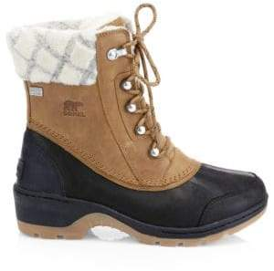 Sorel Whistler Wool Lined Winter Boots