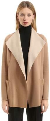 Agnona Cashmere Jersey Light Coat