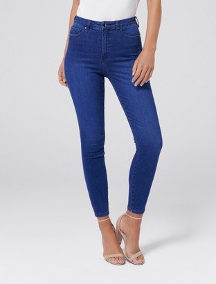 Forever New Bella High-Rise Sculpting Jeans - Kings Blue - 10