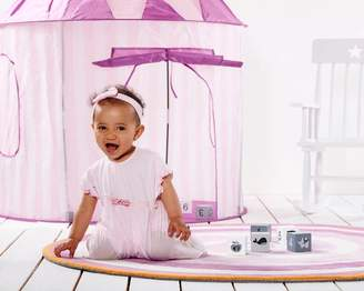 Mini-u (Kids Accessories) Ltd White And Pink Stripe Play Tent