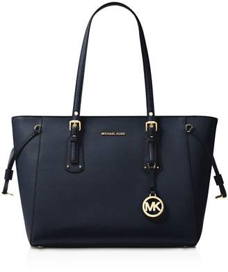 MICHAEL Michael Kors Voyager Multi-Function Top Zip Medium Leather Tote