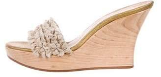 Stella McCartney Vegan Canvas Slide Sandals