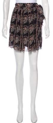 Etoile Isabel Marant Silk Wrap Skirt