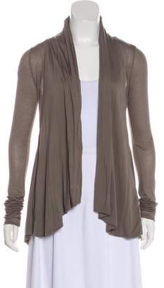 Helmut Lang Long Sleeve Open Front Cardigan