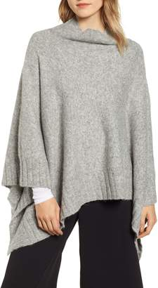 Lou & Grey Rib Trim Poncho