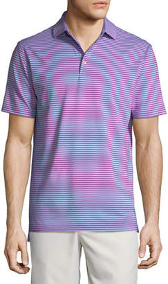 Peter Millar Men's Competition Striped Polo Shirt