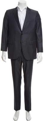 Louis Vuitton Deconstructed Wool Two-Piece Suit