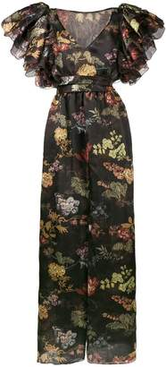 Rosie Assoulin floral print maxi dress