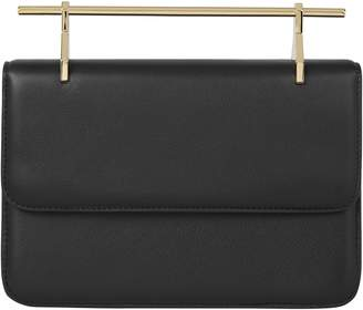 M2Malletier La Fleur du Mal Leather Shoulder Bag