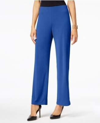 Alfani Knit Wide-Leg Trousers, Created for Macy's