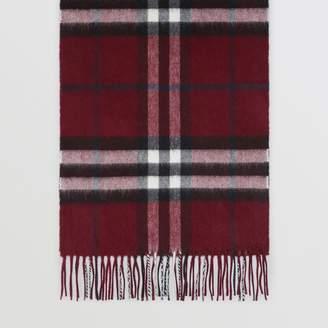 Burberry Gosha x Check Cashmere Double Scarf
