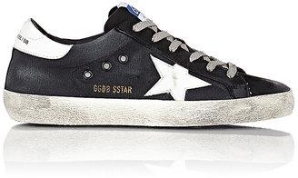 Golden Goose Women's Women's Distressed Superstar Sneakers $610 thestylecure.com