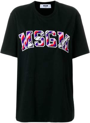 MSGM front-logo loose T-shirt