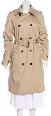 Hunter Knee-Length Trench Coat