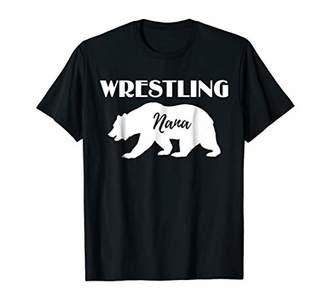 Wrestling Nana Bear Gift For Wrestler Shirt