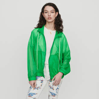Maje Light hooded windbreaker