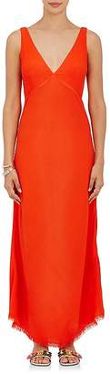 Raquel Allegra Women's Tulip Crepe Midi-Dress $395 thestylecure.com