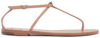 Valentino Pink Garavani T-Strap Sandals