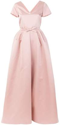 Rochas bow-embellished gown