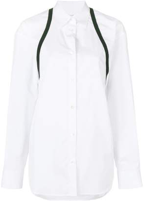 Maison Margiela strap-detail long-sleeve shirt