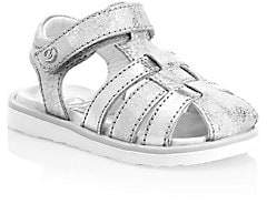 d11c50876ec Naturino Baby Girl s   Little Girl s Ziggy Leather Fisherman Sandals