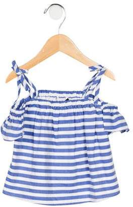 Milly Minis Girls' Striped Eden Top w/ Tags