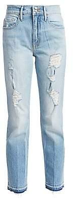 Frame Women's Heritage Sylvie Released Hem Jeans