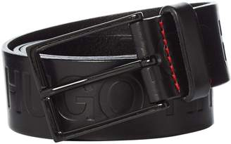 Hugo Giaci Embossed Logo Belt