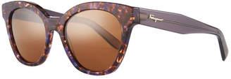 Salvatore Ferragamo Classic Cat-Eye Zyl Sunglasses