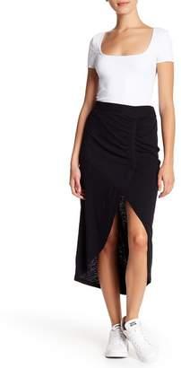 Susina Ruched Maxi Skirt (Regular & Petite)