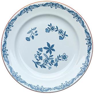 Iittala Ostindia Salad Plate - White/Blue