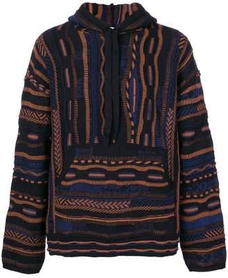 Laneus printed loose sweatshirt