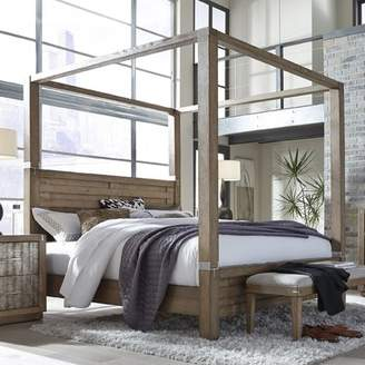 Gracie Oaks Hastings Canopy Bed