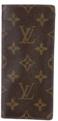 Louis Vuitton Monogram Glasses Case