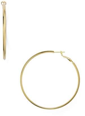 Aqua Large Hoop Earrings - 100% Exclusive