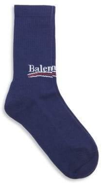 Balenciaga Political Tennis Socks