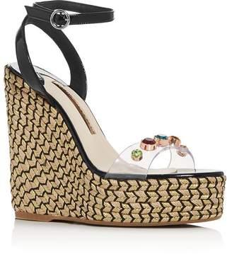 af04d22f0587 Sophia Webster Women s Dina Embellished Wedge Platform Espadrille Sandals