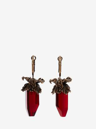 Alexander McQueen Iris Pendant Earrings