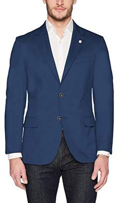Nautica Men's Solid Cotton Suit Separate Jacket