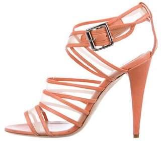 Loeffler Randall Leather Multistrap Sandals