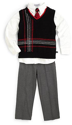 Hartstrings Toddler's & Little Boy's Plaid Sweater Vest