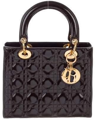 883d0d8cea Christian Dior Patent Medium Lady Bag w/ Strap