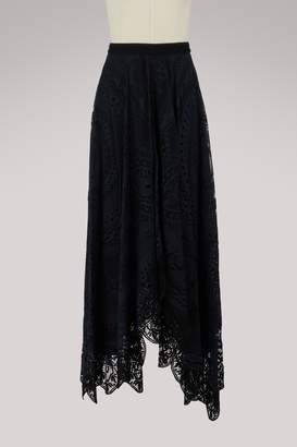 Chloé Lace skirt